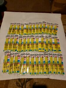 74 Pieces 37 Packs Of 2 Yellow Sharpie Smear Guard Highlighters