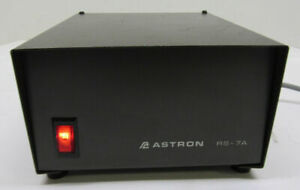 Astron Rs 7a 13 8v Dc Linear Power Supply 5a Continuous 7a 50 Duty Cycle