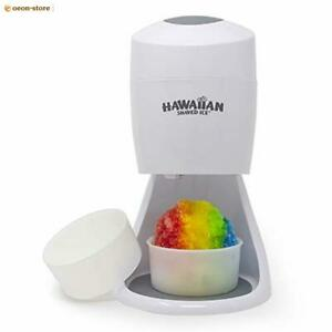 Electric Shaved Ice Machine Hawaiian Shaved Ice Snow Cone Shaver Icee New