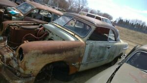 1951 Ford 2dr Rear Bumper Assembly Rear 63417