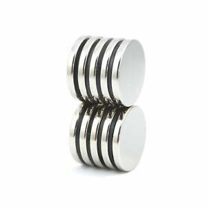 N52 20mm Dia X 3mm Large Strong Neodymium Disk Magnets Diy Mro Craft Small Packs