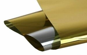 Gold Reflective Color 60 X 10 Proline Window Film For Large Windows Or Doors