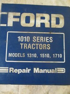 Ford 1310 1510 1710 Repair Manual