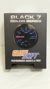 Black 7 Color Series Glow Shift Gs c721 High Pressure Oil Gauge New
