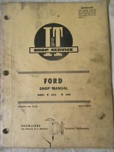 I t Ford 8000 9000 Shop Manual Fo 27