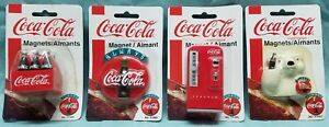 1998 and 1999 Coca-Cola Magnets  Collectibles  Sealed In Original Packages