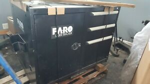 Used Rolling Cart For Faro Laser Tracker