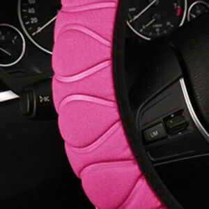 Anti Skid Steering Wheel Cover Car For Four Seasons Pink Accessories Durable