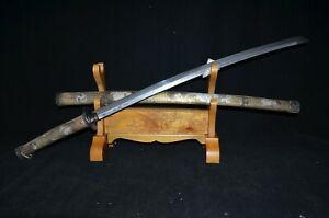 Special Offer Collectable Japanese Samurai Sword Signed Blade Dragon Beast Saya