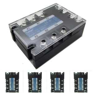 Ssr Solid State Relay 3 Phase Motor Start Control Dc To Ac 380v Ce High Quality