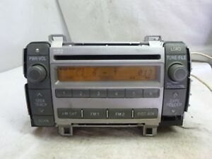 08 09 Toyota Matrix Radio Cd Player 86120 02720 11820 S041