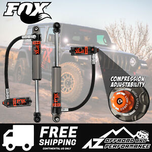 Fox Race Series 2 5 Front Resi Shocks For 18 19 Jeep Wrangler Jl 2 3 Lift