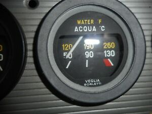 Ferrari 246 Dino 308 Gt4 Temperature Gauge Veglia Free World Shipping