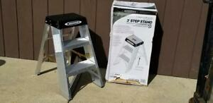 New Super Duty Ssa03 Werner 3 Ft Step Stool Stand 375 Lb Weight Rated Ladder