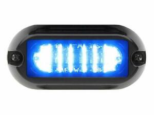 Whelen Linz6b Super led Lighthead Blue New
