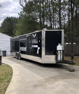 2015 Sle Equipment 28 Bbq Food Concession Trailer Used Mobile Food Unit For S