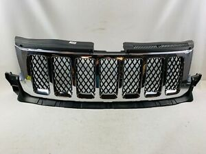 2011 2012 2013 Jeep Grand Cherokee Front Bumper Chrome Grille Grill Oem