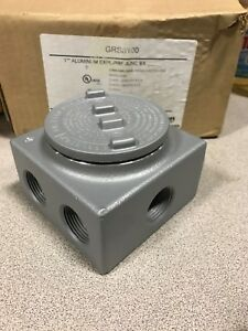 Appleton Grss100 1 Aluminum Explosion Proof Junction Box