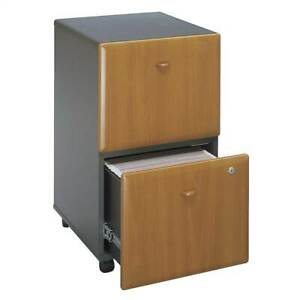 Black Cherry Fully Assembled Rolling File Cabinet Series A id 2534