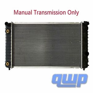 Cu1825 Radiator For Mt Chevy Blazer S10 Gmc Jimmy Sonoma V6 Manual Tran 52472964
