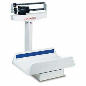 Detecto Mechanical Pediatric Baby Scale 130 Pound X 1 Ounce Capacity 1 Each