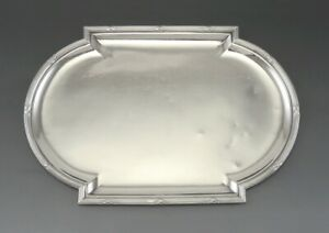 Antique Mon Odiot Paris France 950 Sterling Silver Trinket Dresser Jewelry Tray