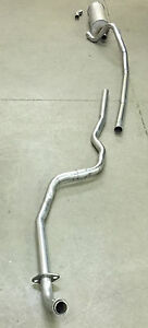 1960 1962 Mercury Comet 6 Cylinder Exhaust System Aluminized Standard Trans