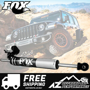 Fox 2 0 Performance Series Ts Steering Stabilizer Fits 18 20 Jeep Wrangler Jl