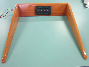 1993 Chevy G20 Vans Wood Overhead Switch Console