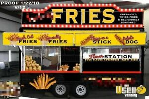 Turnkey Food Concession Trailer With Gmc Truck For Sale In New York