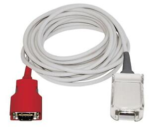 Masimo Red Lnc 10 Adapter Patient 10ft Extension Cable Pulse Spo2 Sensor 20 Pin