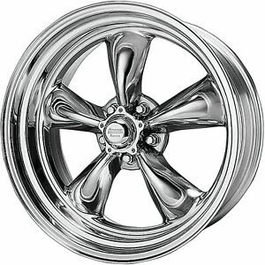 4 New 17x8 8 American Racing Torq Thrust Ii 1 Pc Polished 5x114 3 Wheels Rims