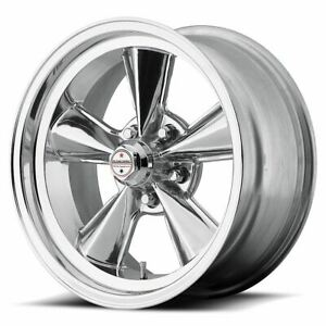 4 New 17x9 0 American Racing T71r Polished 5x120 65 Wheels Rims