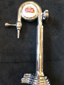 Lighted Stella Artois Draft Beer Swan Tower For Air Cooled Draft Systems Draught