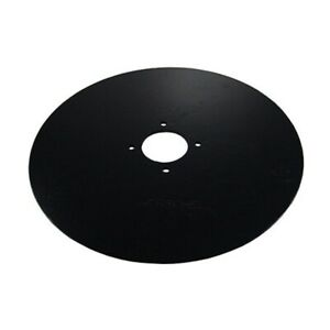Qty 5 B45 3165f 22 5 Flat Coulter Blade 22 5 Flat Coulter 256 Thick Hole Si