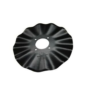 Qty 5 B45 1126 16 Spherical Coulter Blade 6 Hole 3 5 Bolt Circle 16 X 4mm S