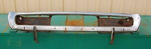 Oem 1971 1972 Dodge Charger Rear Bumper Guards And Mounting Brackets B Body