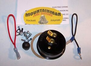 Electric Choke Kit Carter Afb Carburetor 809066 Includes Marine 4 Bbl