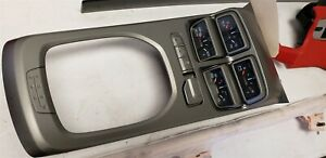 10 15 Camaro Zl 1 Center Console Auxilary Gauge Package Manual With Boost Gauge