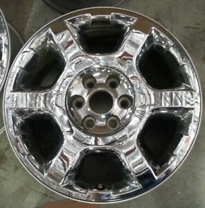 20 Inch 2013 2014 Ford F 150 Expedition King Ranch Oem Chrome Wheel Rim 3916 B