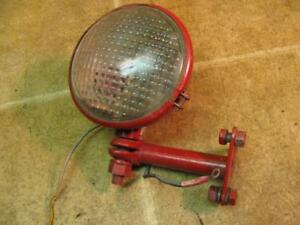 International Farmall Tractor Guide Red Dot Rear Work Light With Bracket