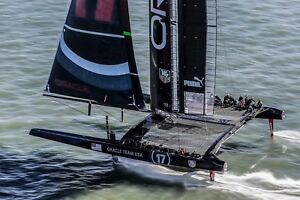 Patent For Sale Sail Venting Technology Used On Bmw Oracle Racing Americas Cup