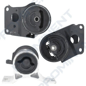 Engine Motor Mount Set 3 For 2002 2009 Nissan Murano Altima Maxima Quest 3 5l V6