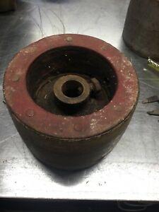 Tractor Pto Fiber Flat Belt Pulley International Ih Farmall Hit And Miss