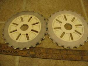 2 International C6 24 Corn Planter Plates Mccormick Ih Ihc
