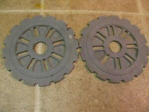 2 International C16 16 Corn Planter Plates Mccormick Ih Ihc