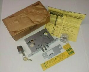 Corbin Russwin Lox 9516 Us26d Rh Mortise Lock Body With Cylinder And Keys