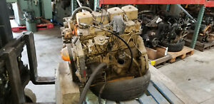 Cummins 4bt 3 9 Turbo Diesel Engine W Ford Overdrive 2wd Free Shipping