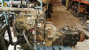 Cummins 4bt 3 9 Turbo Diesel Engine W 5 Speed Manual Kit Free Shipping