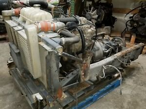 Cummins P Pump 4bt 3 9 Turbo Diesel Engine Allison Auto Trans Free Shipping